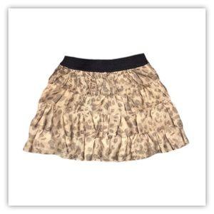 Children's Place Girl's Leopard Skirt